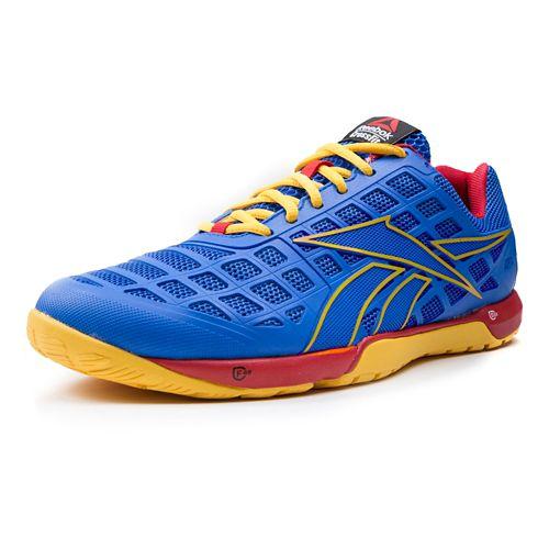 Mens Reebok CrossFit Nano 3.0 Cross Training Shoe - Blue/Yellow 12.5