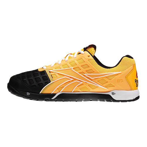 Mens Reebok CrossFit Nano 3.0 Cross Training Shoe - Neon Orange/Black 12.5