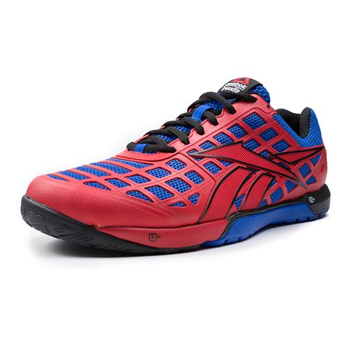 Mens Reebok CrossFit Nano 3.0 Cross Training Shoe - Red/Blue 12