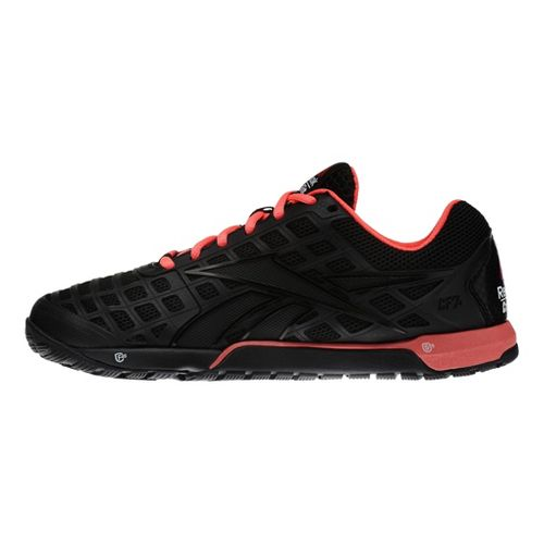 Womens Reebok CrossFit Nano 3.0 Cross Training Shoe - Black/Pink 10