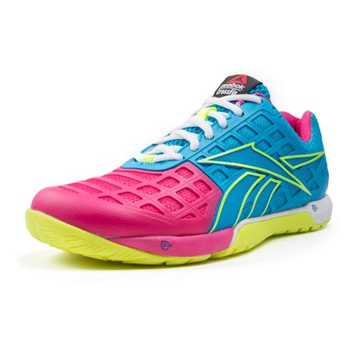 Womens Reebok CrossFit Nano 3.0 Cross Training Shoe - Blue/Pink 10