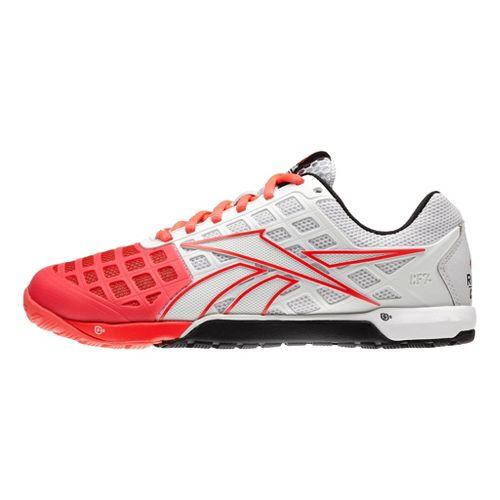 Womens Reebok CrossFit Nano 3.0 Cross Training Shoe - White/Cherry 6.5