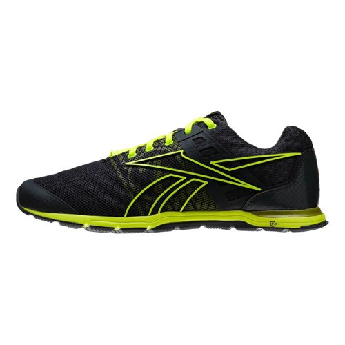 Mens Reebok CrossFit Nano Speed Cross Training Shoe - Charcoal/Lime 9