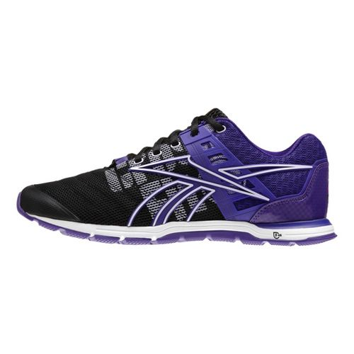 Womens Reebok CrossFit Nano Speed Cross Training Shoe - Black/Violet 10.5