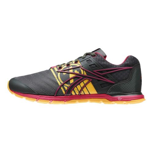 Womens Reebok CrossFit Nano Speed Cross Training Shoe - Charcoal/Pink 8