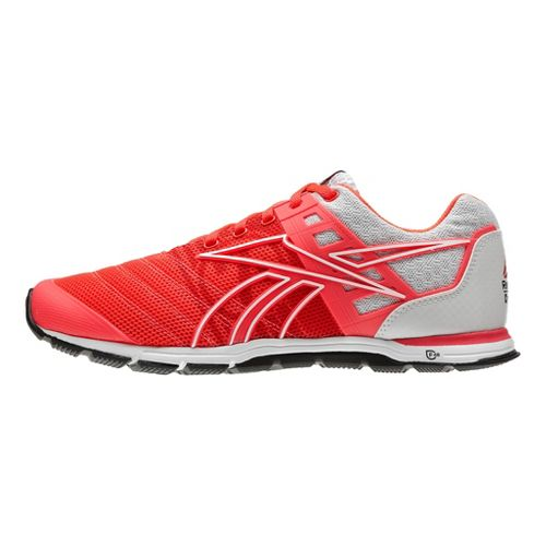 Womens Reebok CrossFit Nano Speed Cross Training Shoe - Cherry/White 6