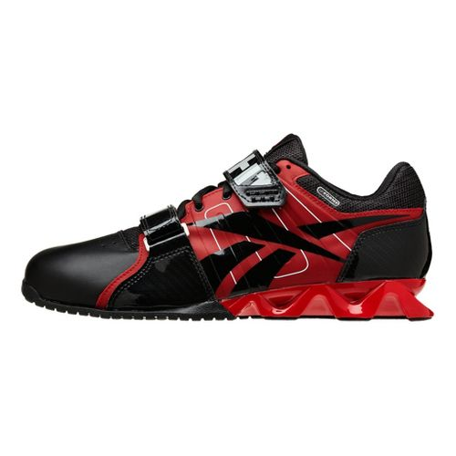 Mens Reebok CrossFit Lifter Plus Cross Training Shoe - Black/Red 12.5