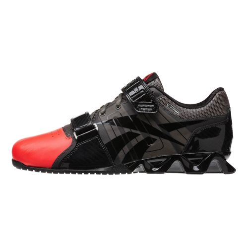 Mens Reebok CrossFit Lifter Plus Cross Training Shoe - Grey/Cherry 11.5