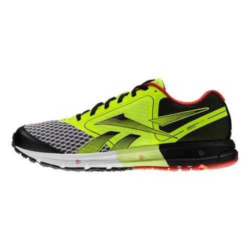 Mens Reebok ONE Guide Running Shoe - Neon 11.5