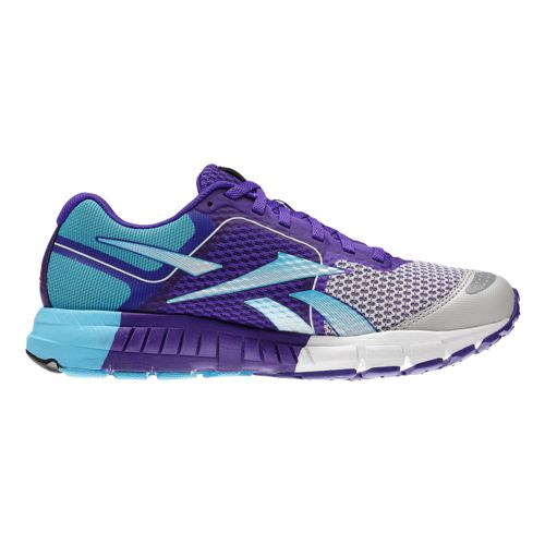 Womens Reebok ONE Guide Running Shoe - Blue/Purple 8.5