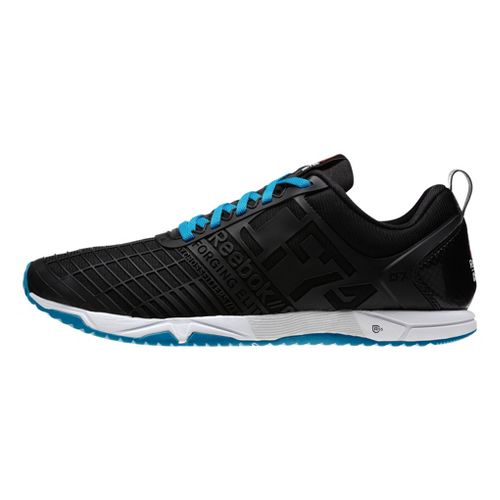 Mens Reebok CrossFit Sprint TR Cross Training Shoe - Black/Blue 8.5
