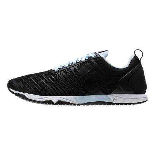 Womens Reebok CrossFit Sprint TR Cross Training Shoe - Black/Blue 6.5