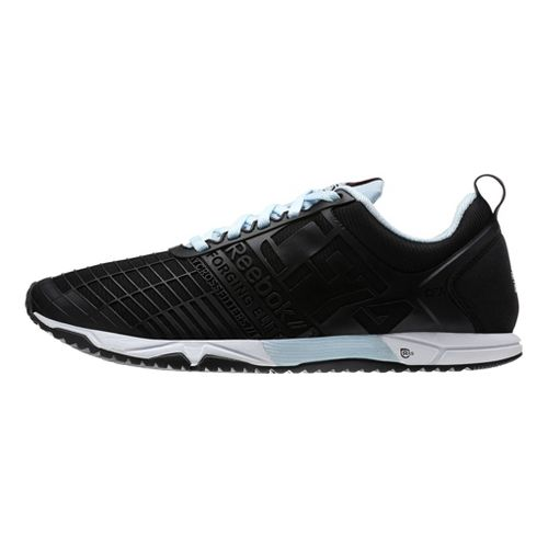 Womens Reebok CrossFit Sprint TR Cross Training Shoe - Black/Blue 7.5