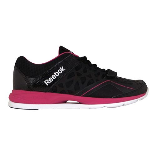 Womens Reebok Studio Choice Cross Training Shoe - Black/Pink 7.5