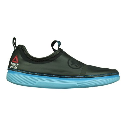 Womens Reebok CrossFit Nanossage TR Casual Shoe - Black/Blue 7