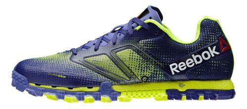 Womens Reebok All Terrain Super Running Shoe - Purple/Neon 11