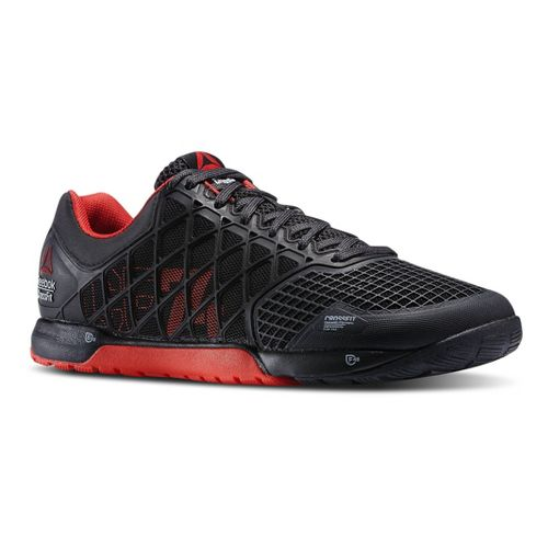 Mens Reebok CrossFit Nano 4.0 Cross Training Shoe - Black/Red 11.5