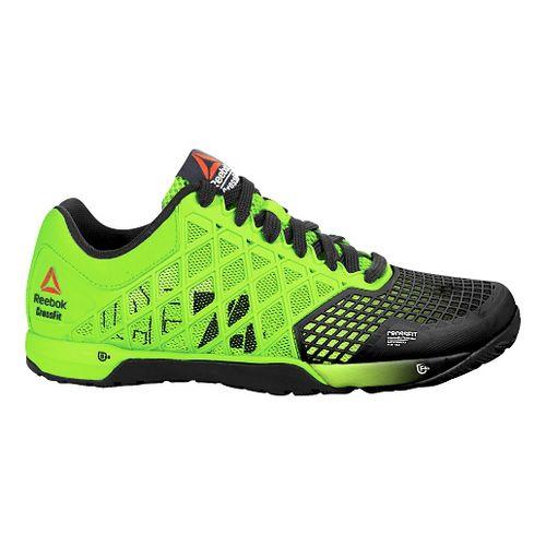 Mens Reebok CrossFit Nano 4.0 Cross Training Shoe - Green/Black 12.5