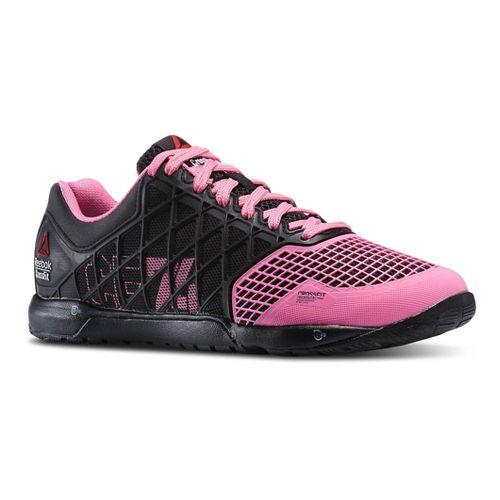Womens Reebok CrossFit Nano 4.0 Cross Training Shoe - Black/Pink 10