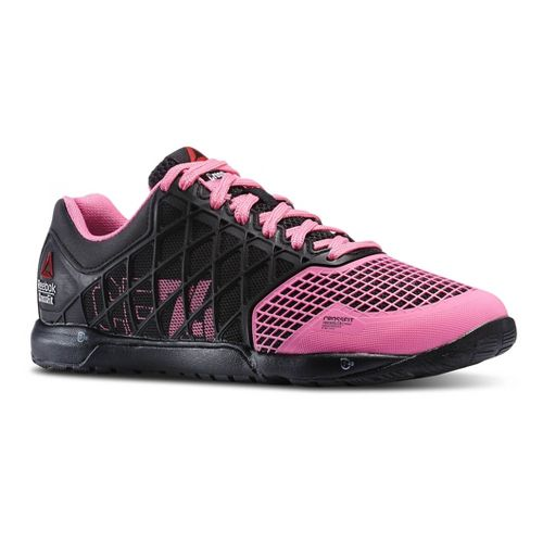 Womens Reebok CrossFit Nano 4.0 Cross Training Shoe - Black/Pink 6