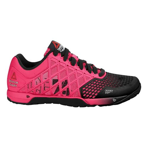 Womens Reebok CrossFit Nano 4.0 Cross Training Shoe - Pink/Black 7.5