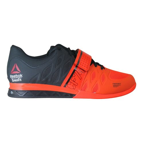 Mens Reebok CrossFit Lifter 2.0 Cross Training Shoe - Black/Orange 8.5