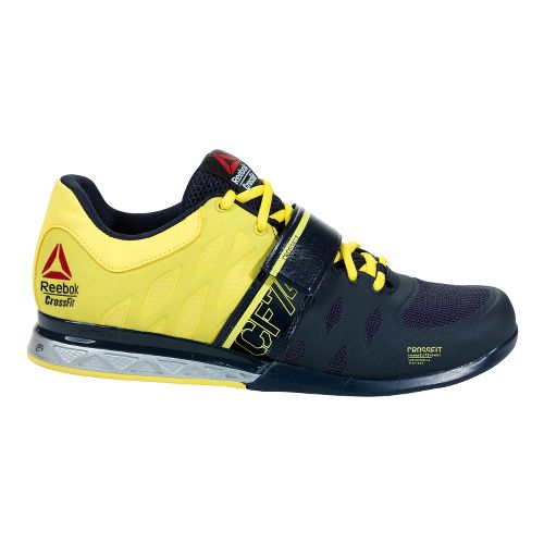 Mens Reebok CrossFit Lifter 2.0 Cross Training Shoe - Yellow 12.5