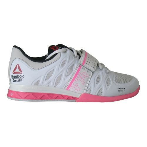 Womens Reebok CrossFit Lifter 2.0 Cross Training Shoe - Grey/Pink 7.5