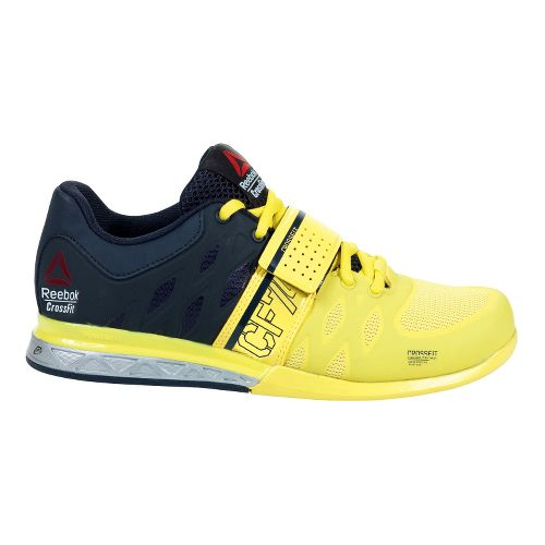Womens Reebok CrossFit Lifter 2.0 Cross Training Shoe - Yellow 6.5