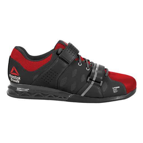 Mens Reebok CrossFit Lifter Plus 2.0 Cross Training Shoe - Black/Red 12.5