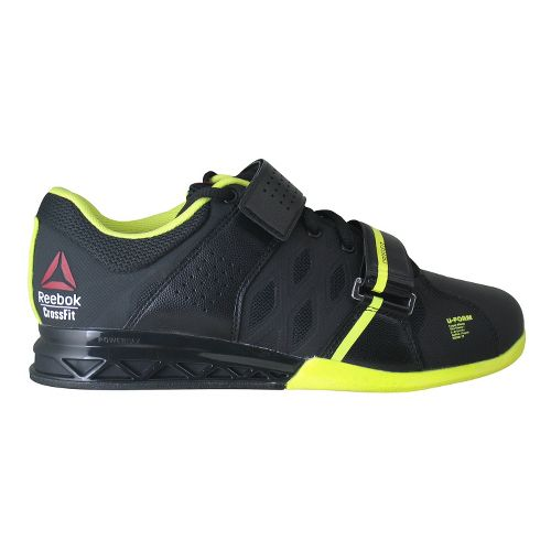 Womens Reebok CrossFit Lifter Plus 2.0 Cross Training Shoe - Black/Neon 8.5