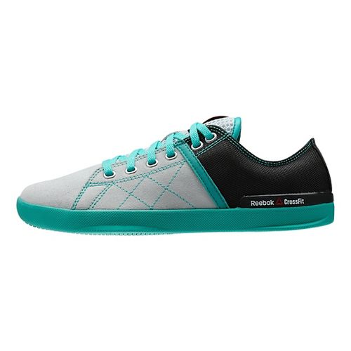 Womens Reebok CrossFit Lite LO TR Cross Training Shoe - Grey/Teal 8.5