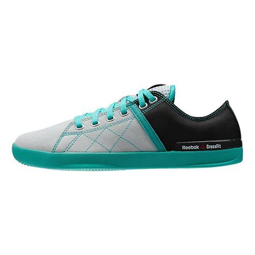 Womens Reebok CrossFit Lite LO TR Cross Training Shoe - Grey/Teal 9.5