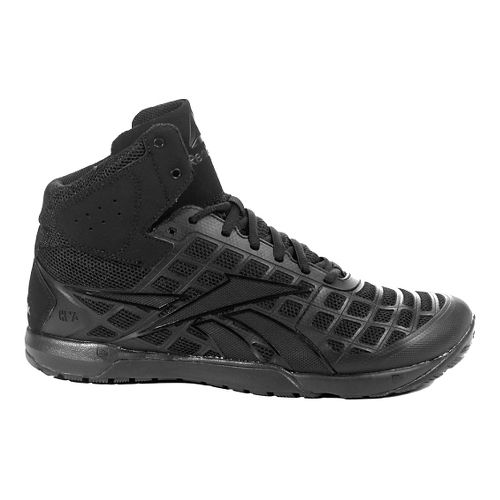 Mens Reebok CrossFit Nano 3.0 Mid Cross Training Shoe - Black 8.5