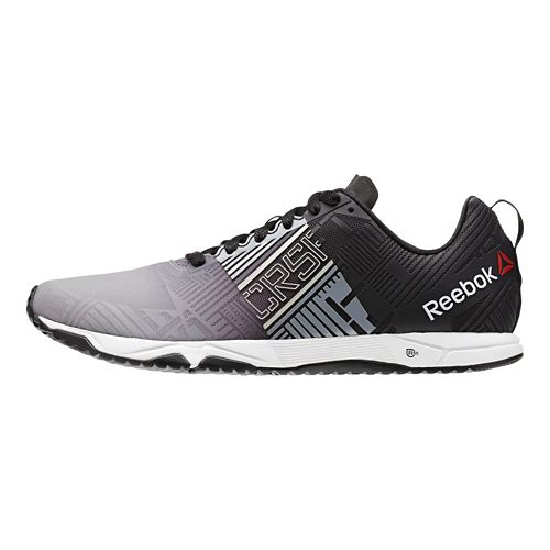 Mens Reebok CrossFit Sprint 2.0 Cross Training Shoe - Black/Grey 12.5