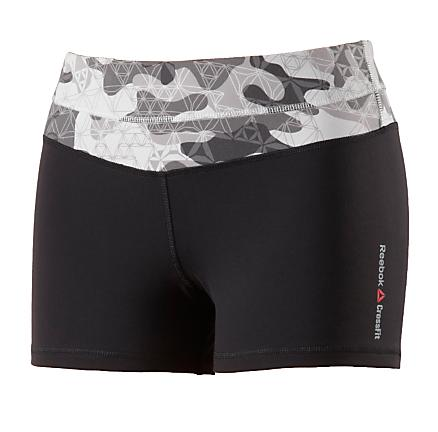 "Womens Reebok CrossFit Chase 2"" Fitted Shorts"