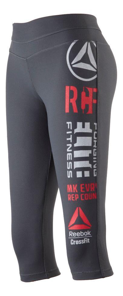 Reebok CrossFit Performance Graphic Capri Tights