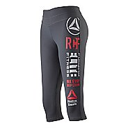Womens Reebok CrossFit Performance Graphic Capri Tights