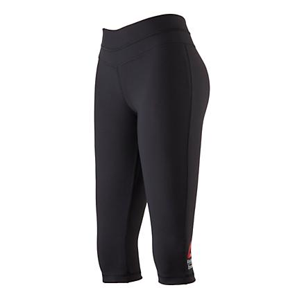 Womens Reebok CrossFit Performance Capri Tights