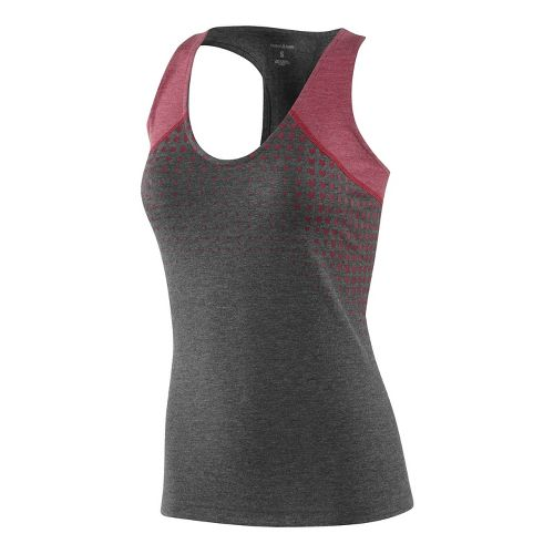 Womens Reebok CrossFit Performance Tank Technical Tops - Dark Grey L