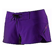 Womens Reebok CrossFit Printed Board Lined Shorts