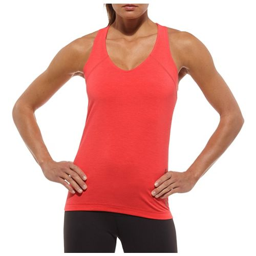 Womens Reebok CrossFit Perf Tank Tanks Technical Tops - Chili Red S