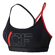 Womens Reebok CrossFit Graphic Skinny Strap Sports Bra
