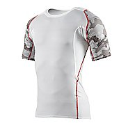 Mens Reebok Men's CrossFit Light Compression Short Sleeve Technical Tops
