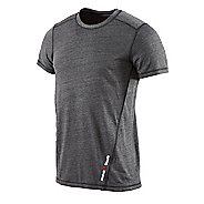 Mens Reebok CrossFit Tri Blend Short Sleeve Technical Tops