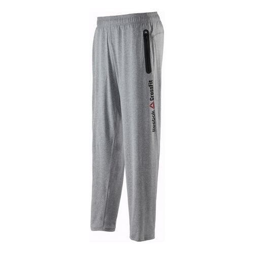 Mens Reebok CrossFit Speedwick Warm-Up Pants - Heather Grey L