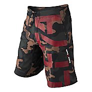 Mens Reebok CrossFit Camo Intensify Unlined Shorts