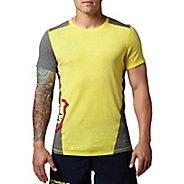 Mens Reebok CrossFit Games Tri-Blend Tee Short Sleeve Technical Tops