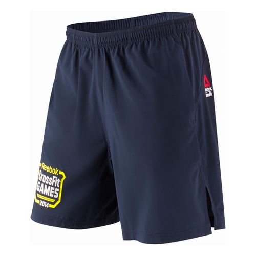 Mens Reebok CrossFit Games Austin Unlined Shorts - Navy M