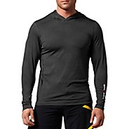 Mens Reebok CrossFit Performance Hoody Long Sleeve No Zip Technical Tops